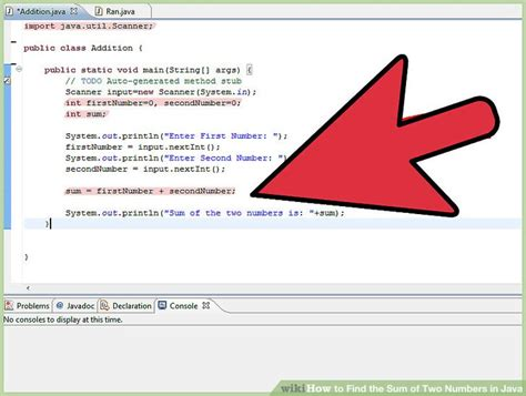 How to Find the Sum of Two Numbers in Java: 3 Steps