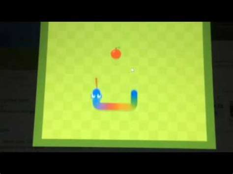How to get the SECRET Rainbow Snake on Google Snake Game ...