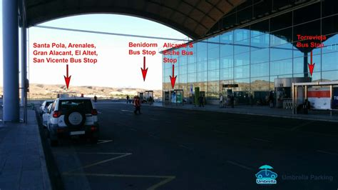 How to go from the Alicante Airport to the main closer ...