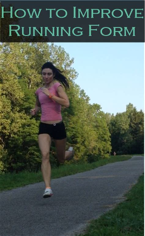 How to Improve Running Form   RUN FOREFOOT