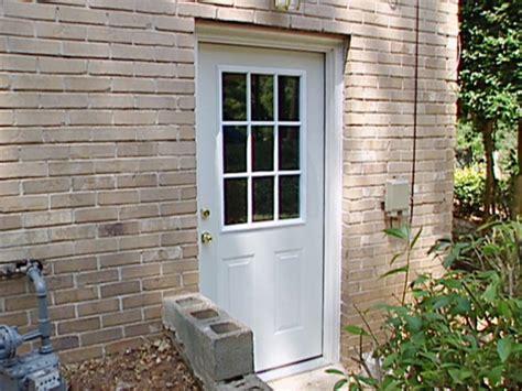 How to Install a Pre-Hung Exterior Door | how-tos | DIY