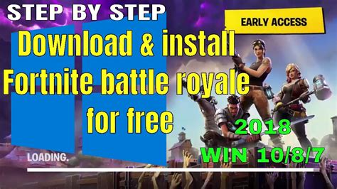 How To Install Fortnite Battle Royale For Free On Windows ...