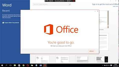 How To Install Microsoft Office 2013 In Windows 10 - YouTube