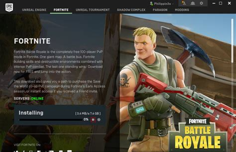"How to install ""Fornite"" game by Epic Games on ccboot ..."