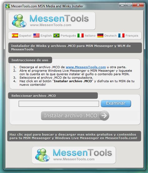 How to install Winks and MCO files in MSN Messenger and ...