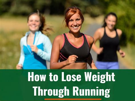 How to Lose Weight Through Running – Calculate Your Daily ...