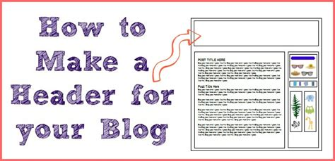 How to Make a Blog Header | More from Your Blog