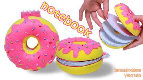 How To Make a Donut Notebook – DIY Doughnut Notepad ...