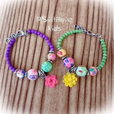 How To Make Bracelets With Beads For Kids | www.pixshark ...