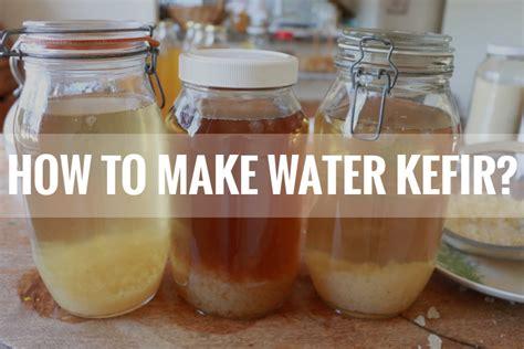 How to Make Water Kefir - Kombucha Philippines