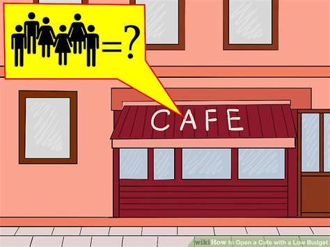How to Open a Cafe with a Low Budget: 6 Steps (with Pictures)
