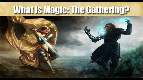 How to Play Magic: The Gathering - The Basics - YouTube