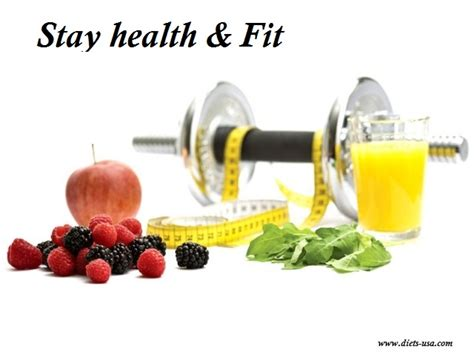 How to Remain Healthy & Fit