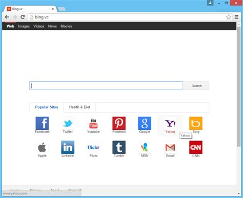 How to remove Bing.vc | BugsFighter