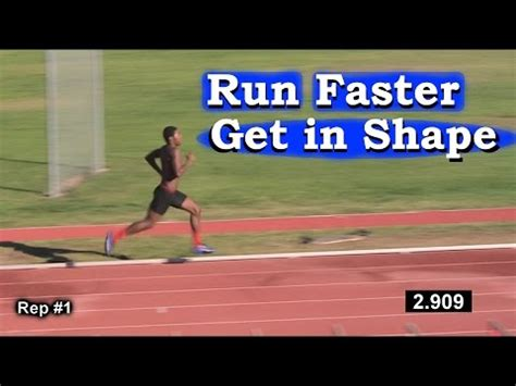 How to Run Faster & get in Shape for Athletes: Any Sport ...