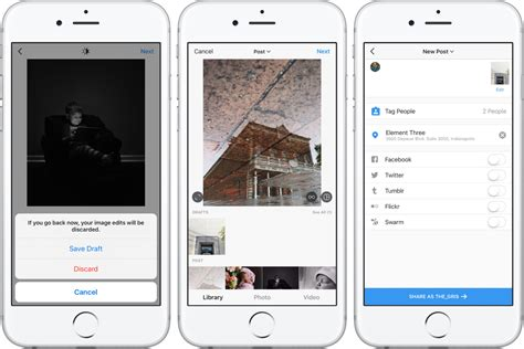 How to save Instagram posts as drafts