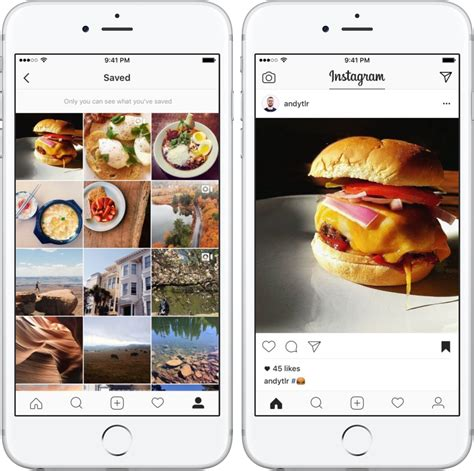 How to save posts on Instagram and organize them into ...