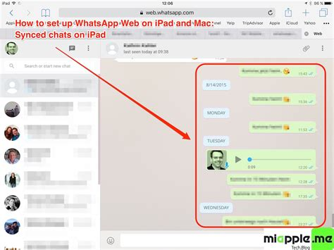 How To Set Up WhatsApp Web On iPad And Mac   miapple.me