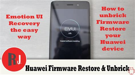 How to Unbrick Firmware Restore your Huawei Device running ...