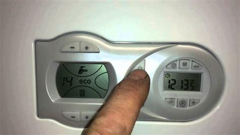 how to use a Ferroli HE boiler - YouTube