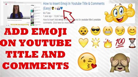 How to Use Emoji In Youtube Title and Comment ????????????????   YouTube