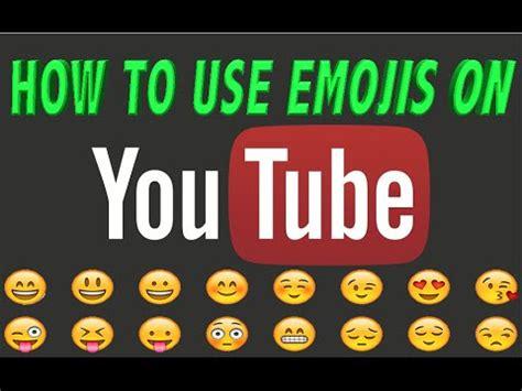 How to use EMOJI on Youtube ????????????comments EASY  Where to ...