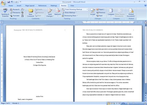 How to write an APA Style Research Paper tutorial