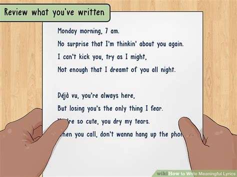 How to Write Meaningful Lyrics (with Pictures) - wikiHow