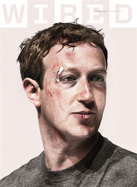 How WIRED s March 2018 Cover With Mark Zuckerberg Was ...
