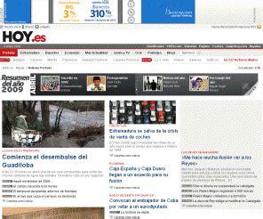 Hoy.es: HOY Extremadura a diario con noticias y última ...