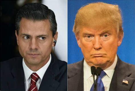 Hoy se reúnen Peña y Trump » Eje Central