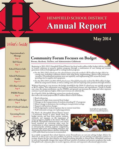 HSD Annual Report 2013-2014 by Hempfield School District ...