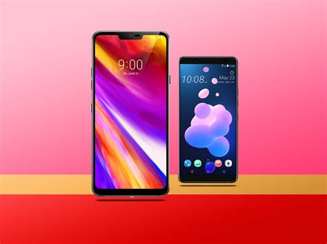 HTC U12+ vs LG G7 ThinQ: Which is best? | Stuff