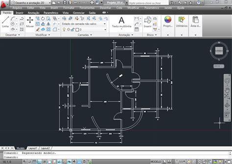 HTK Projetos: AutoCAD: Casa 2D e 3D
