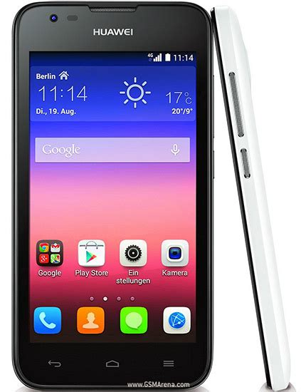 Huawei Ascend Y550 pictures, official photos