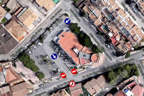 Huétor Vega reordena el tráfico en plaza de España ...
