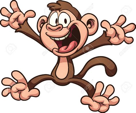 Hug clipart monkey   Pencil and in color hug clipart monkey