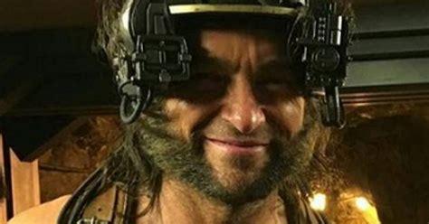 Hugh Jackman Wolverine X Men: Apocalypse BTS Images ...