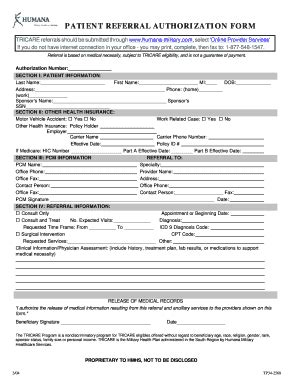 Humana Medicaid Family Referral Form   Fill Online ...