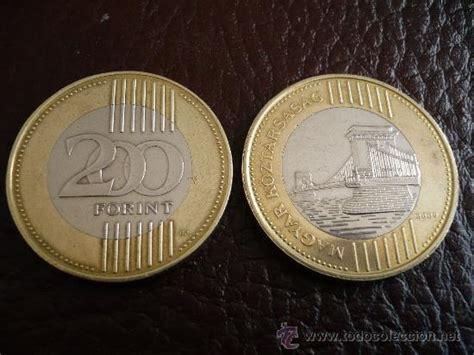 hungria moneda 200 forint bimetal imagen del f   Comprar ...