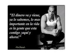 I act because it s the one time I m sure by Vin Diesel ...