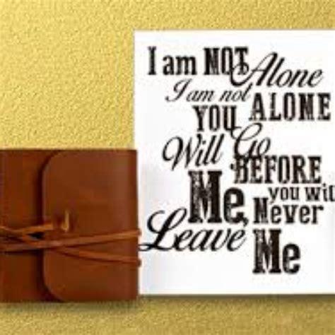 I Am Not Alone - Lyrics and Music by Kari Jobe arranged by ...