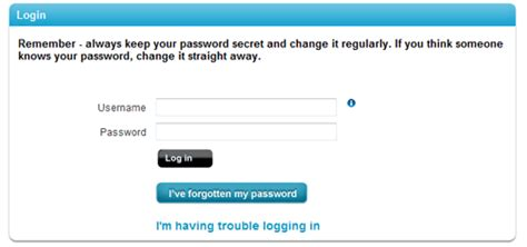I have forgotten my password and can't access my ...