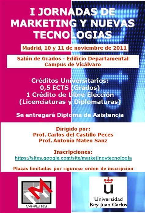 I Jornadas de Marketing y Nuevas Tecnologías - URJC