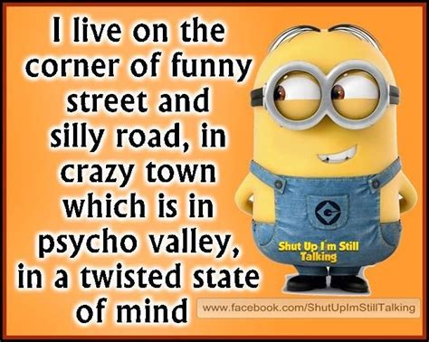 I live in the corner of funny quotes quote crazy funny ...