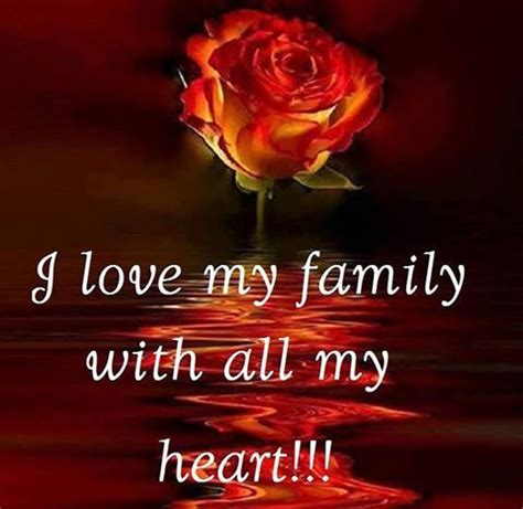 I Love My Family With All My Heart Pictures, Photos, and ...