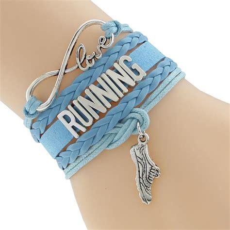 I Love Running Leather Wrap Bracelet – FavoriteRunShop