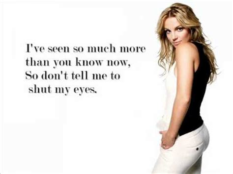 I'm not a girl, not yet a woman-Britney Spears with lyrics ...