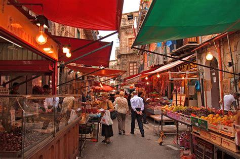 i mercati di Palermo B&B Cavour Il Conte Camillo