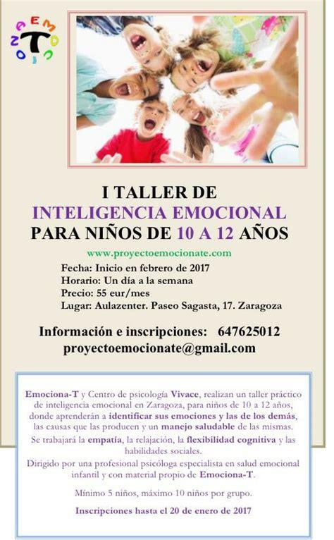 I Taller de Inteligencia Emocional para niños ...